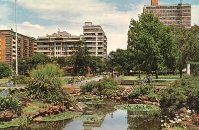 An Old Photo of Joubert Park without the Christmas displays.