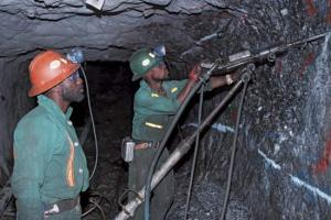 A gold mine in South Africa (Encyclopedia Britannica)
