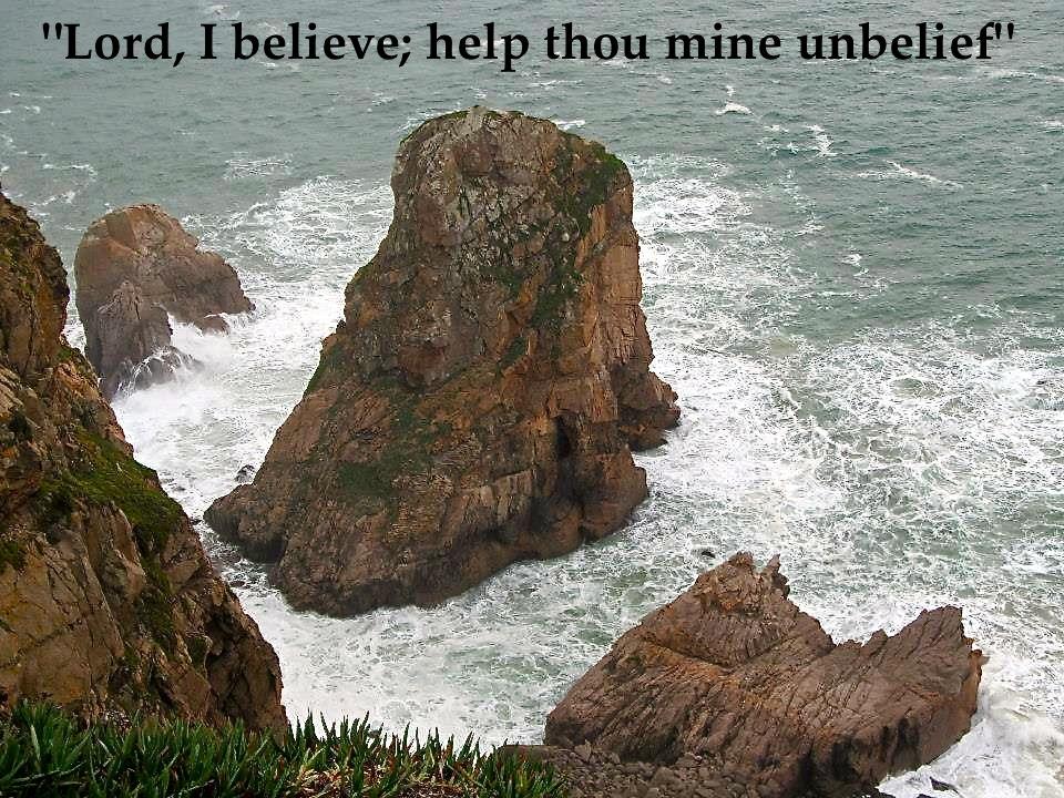 lord i believe help my unbelief essay