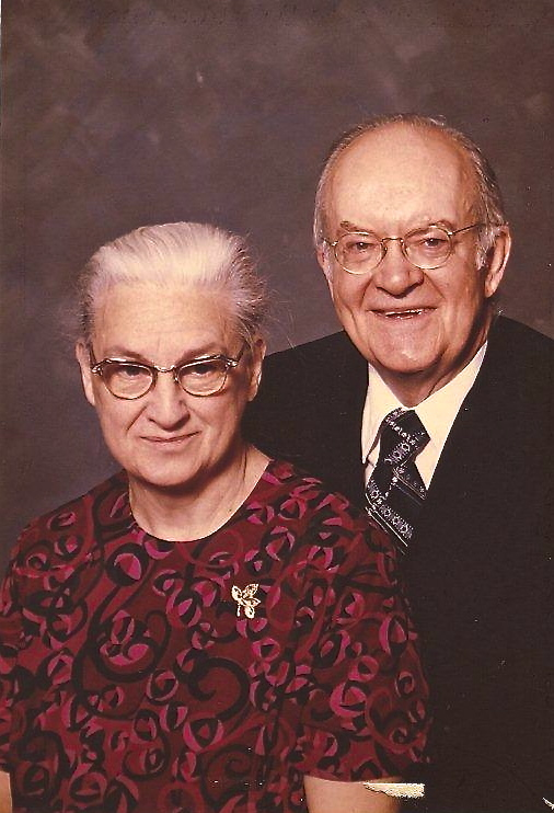 Dr. Winston Wreggit and his wife Elizabeth. Elizabeth's parents served as medical missionaries for several years in India.